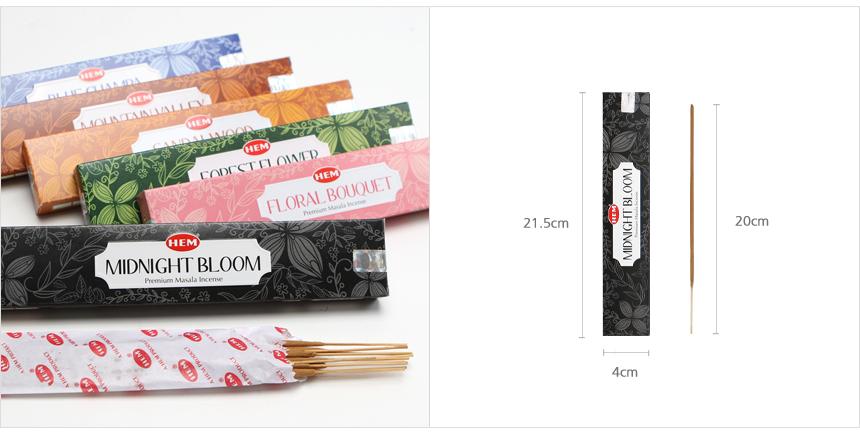 HEM 네이처 마살라 인센스 스틱 - 헤븐센스, 3,500원, DIY용품, 리드스틱